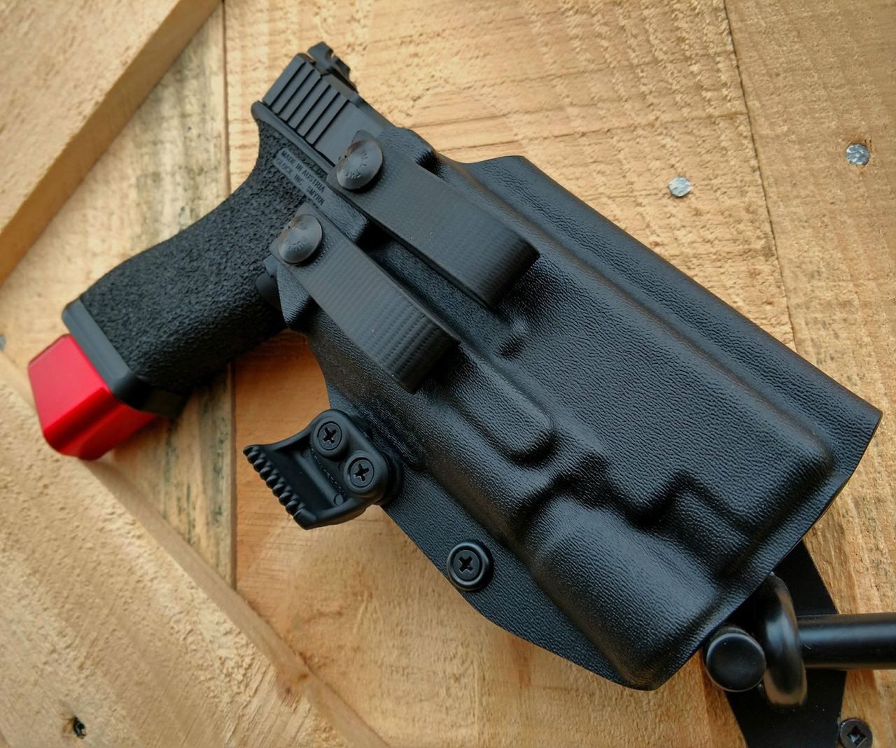 Glock 34 with Surefire X300 Appendix Carry Holster