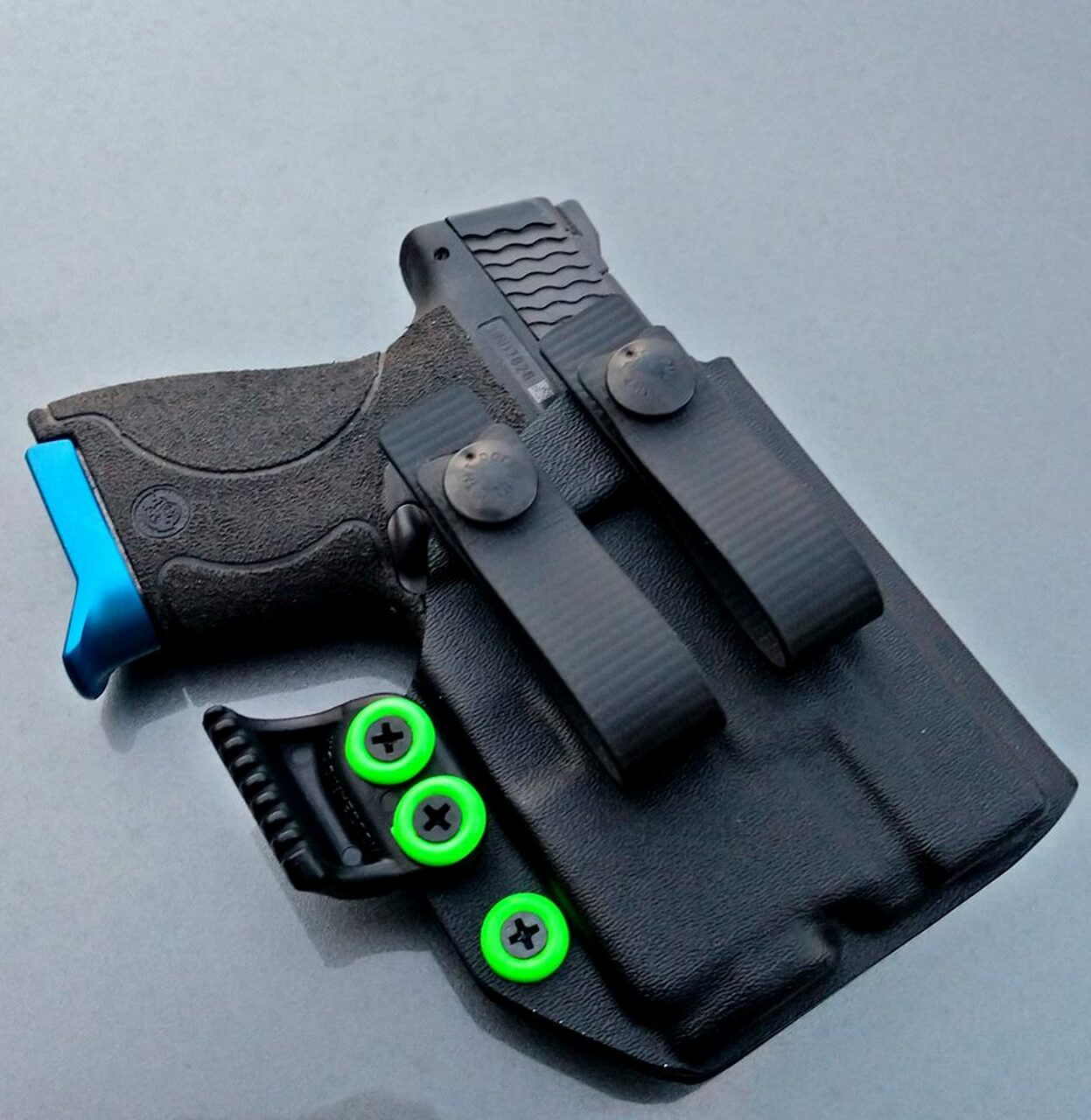 M&P Shield with Streamlight TLR6 Appendix Carry Holster