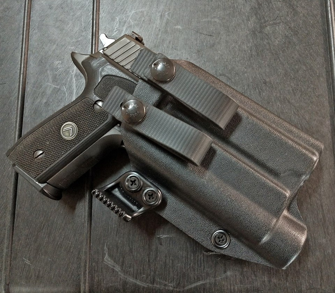 Sig P229 Legion with Streamlight TLR1 HL Appendix Carry Holster