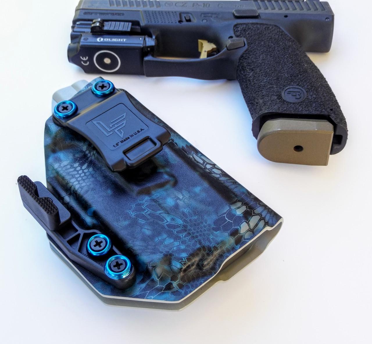 CZ P10c OLight PL Mini Holster