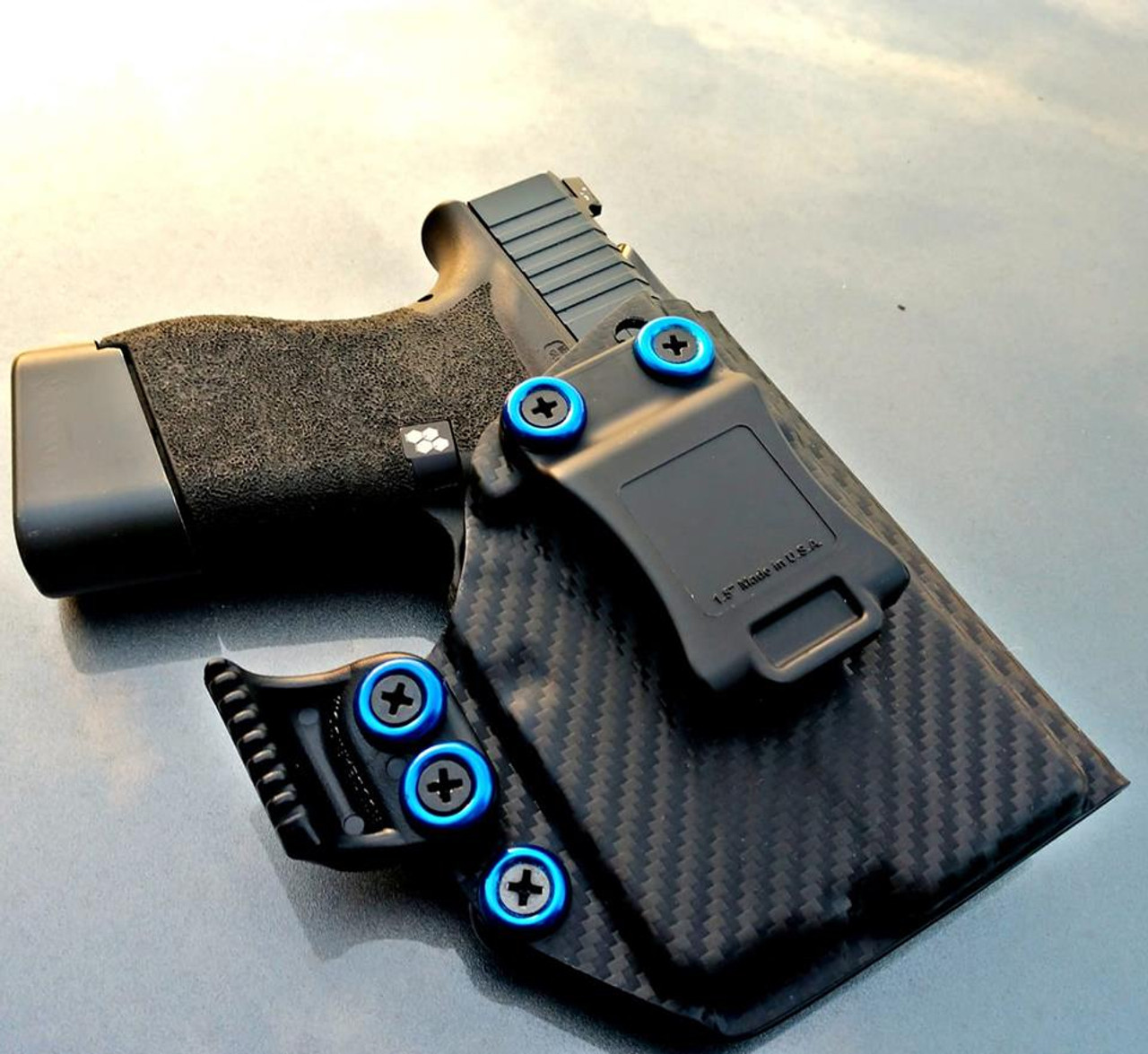 Glock 43 with Streamlight TLR6 Holster