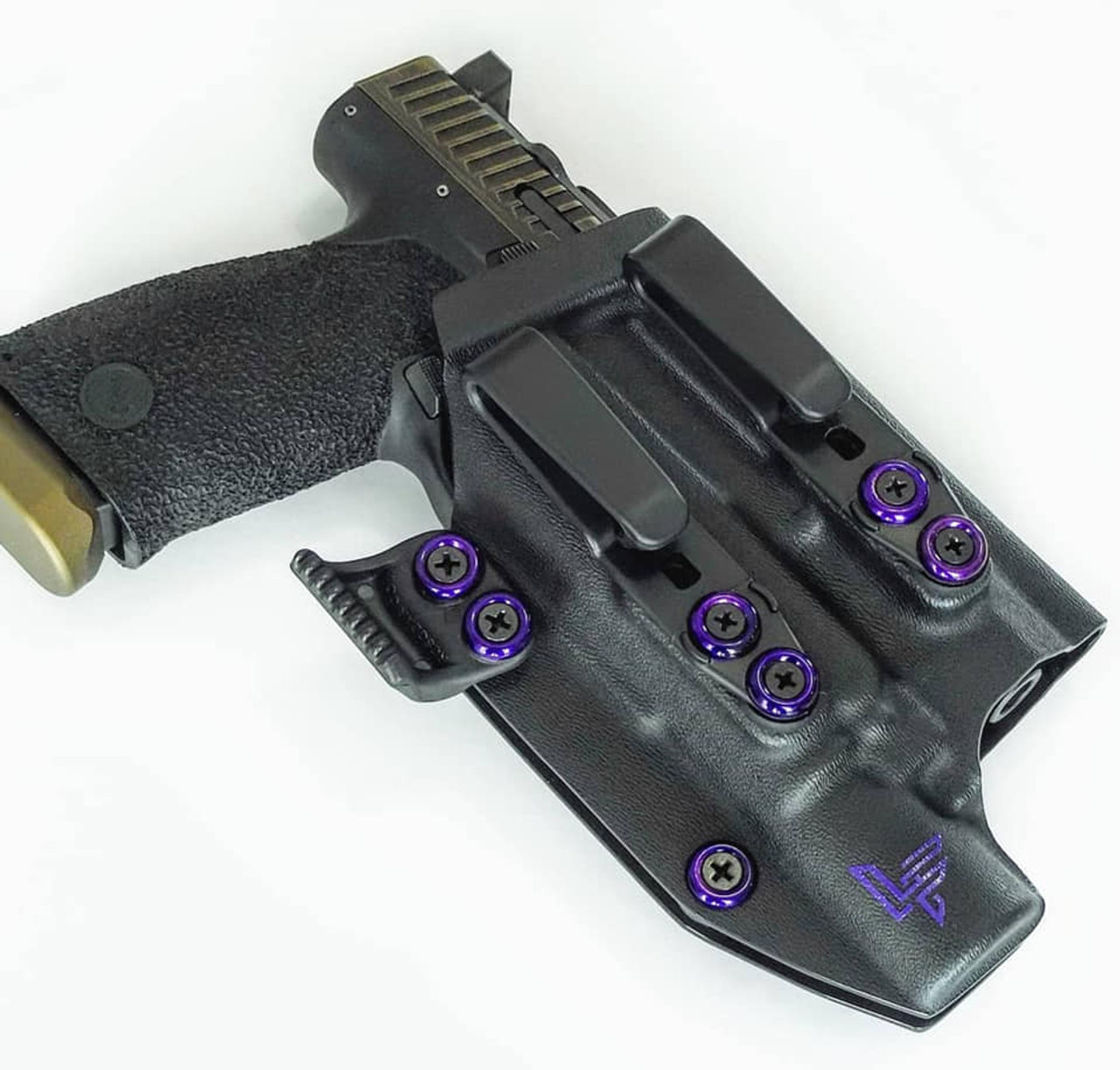 CZ P10c with Surefire X300 Holster