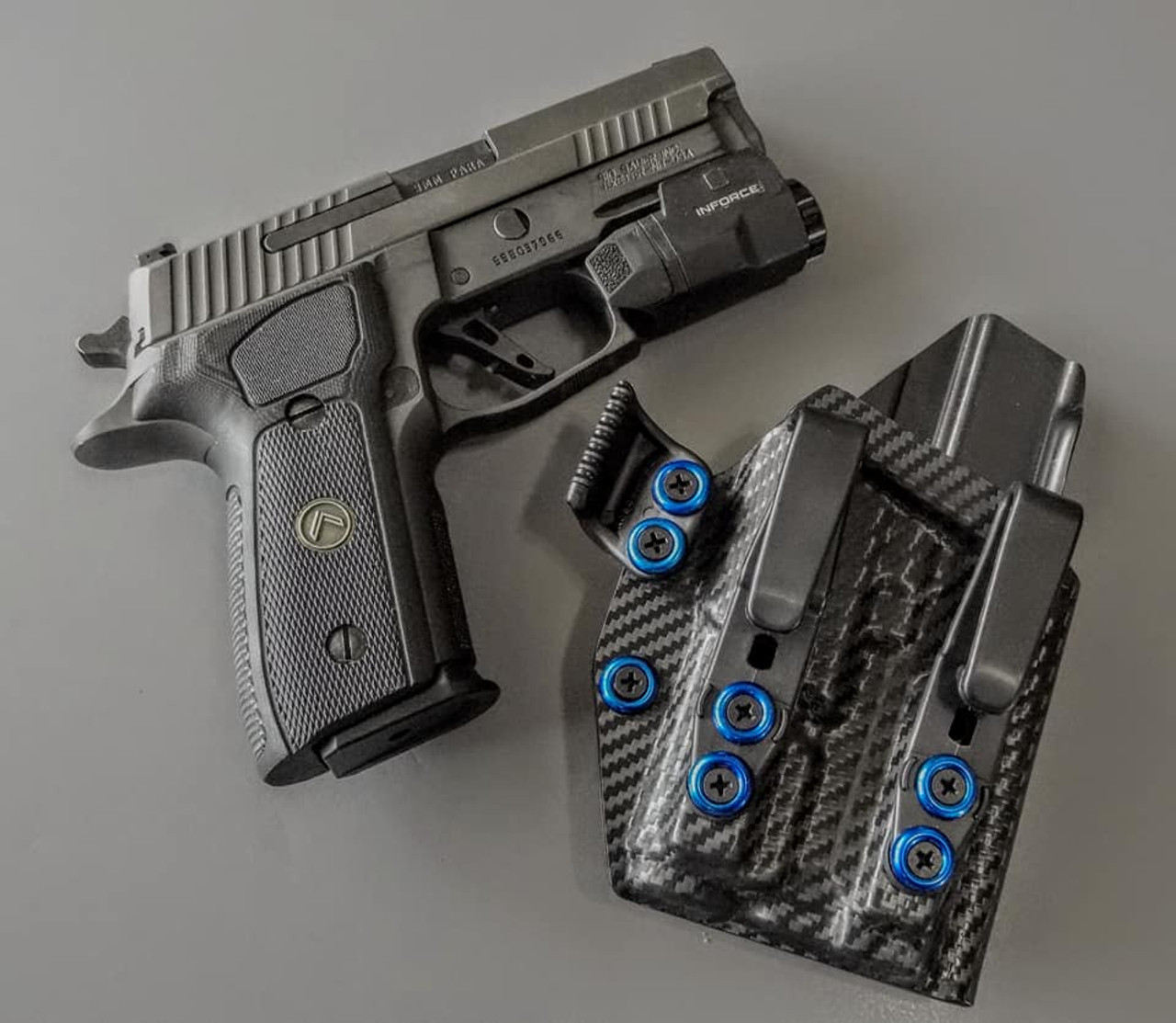 Sig P229 with Inforce APLc Holster