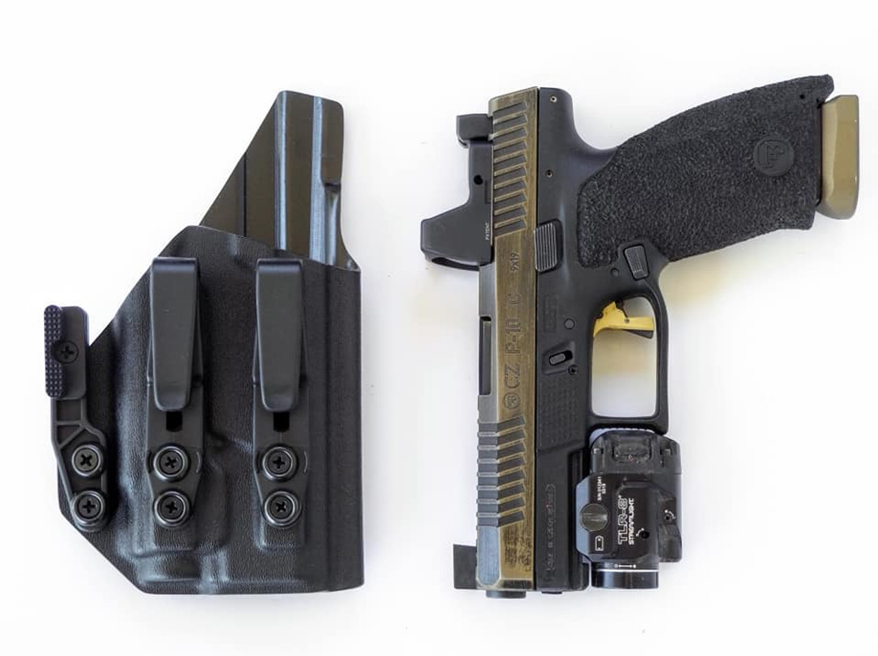 CZ P10c TLR8 Light Bearing Holster