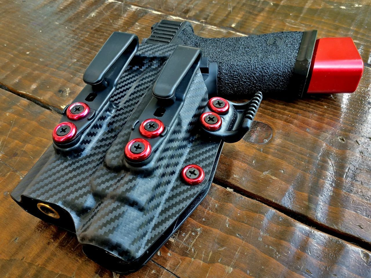 Glock 17 with TLR1 Holster
