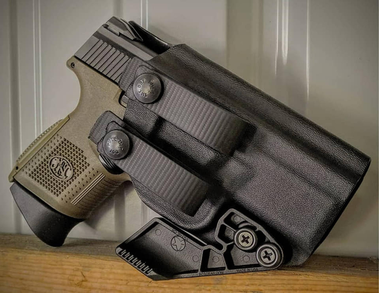 FN FNS 9c Appendix Carry Holster with Soft Loops