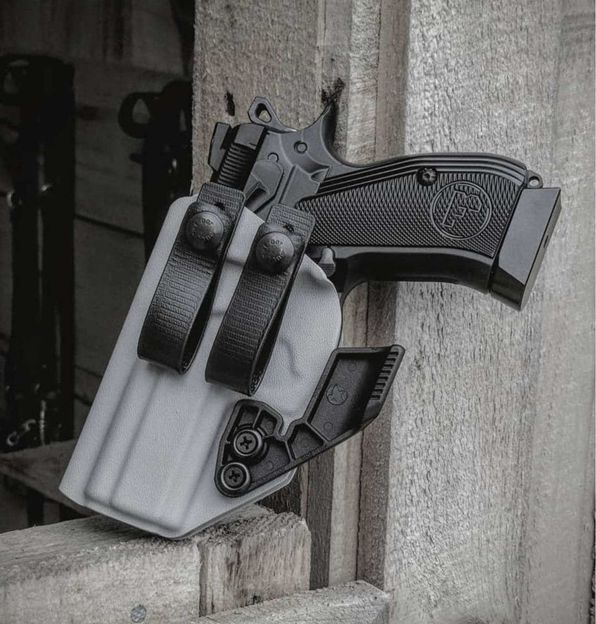 CZ P-01 Left Handed Holster with Soft Loops