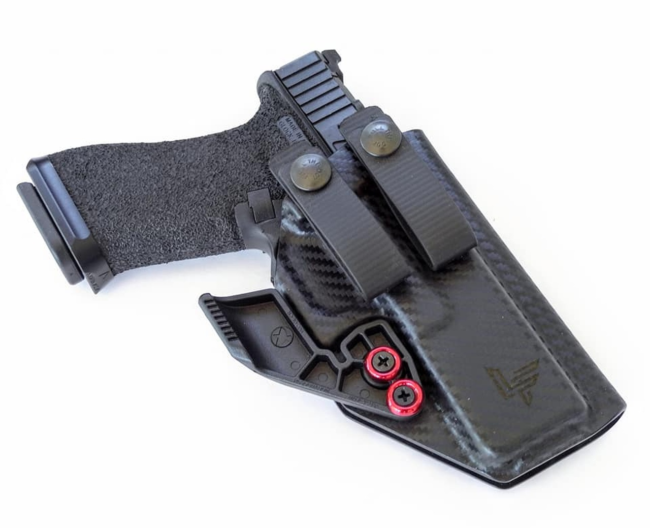 Glock 17 Appendix Carry Holster with Soft Loops