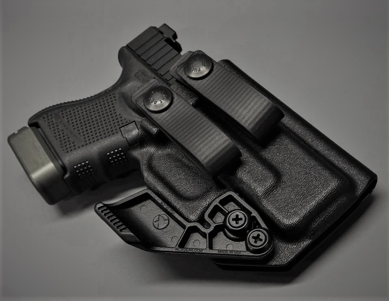 Glock 26 Appendix Carry Holster with Soft Loops