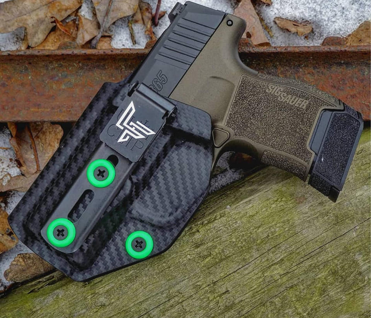Left Handed Sig P365 Ulticlip Holster