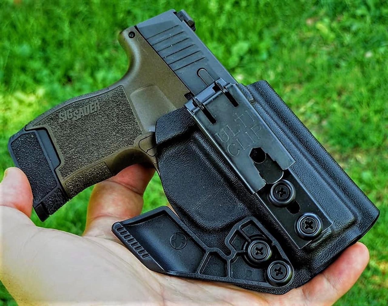 RMR Cut Fits M/&P 4.25 W// XC-1 Kydex IWB w// Full Sweat Shield ~Tuckable Holster~