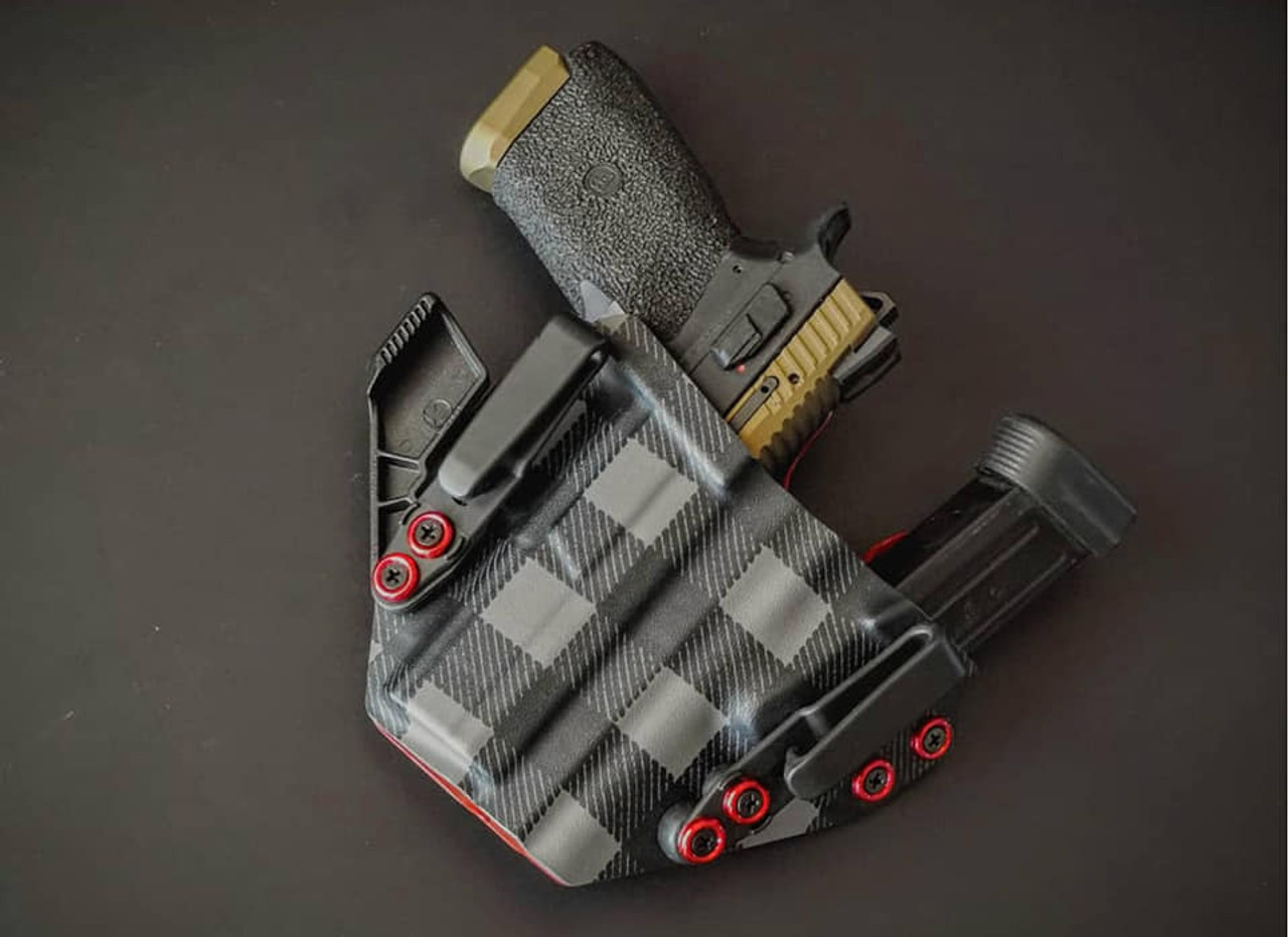 CZ P-07 Sidecar Appendix Carry Rig Holster