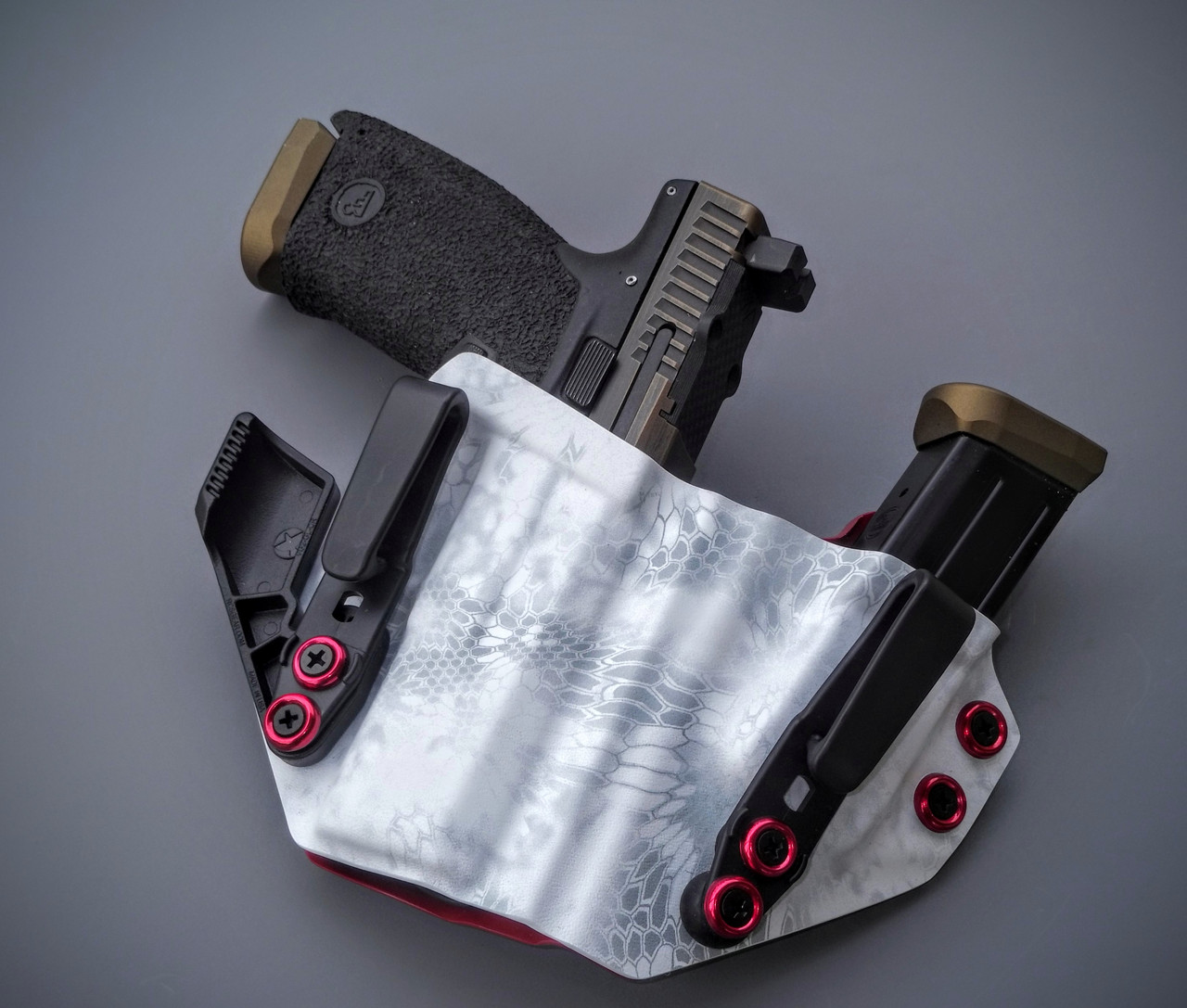 CZ P10c Sidecar Appendix Carry Rig Holster