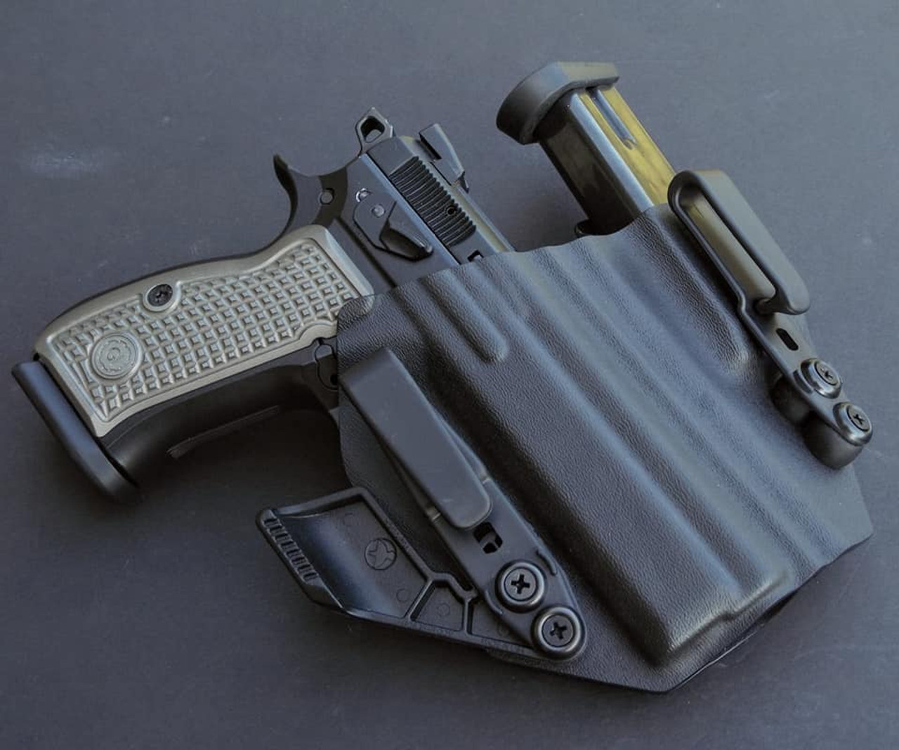 CZ P01  Sidecar Appendix Carry Rig Holster