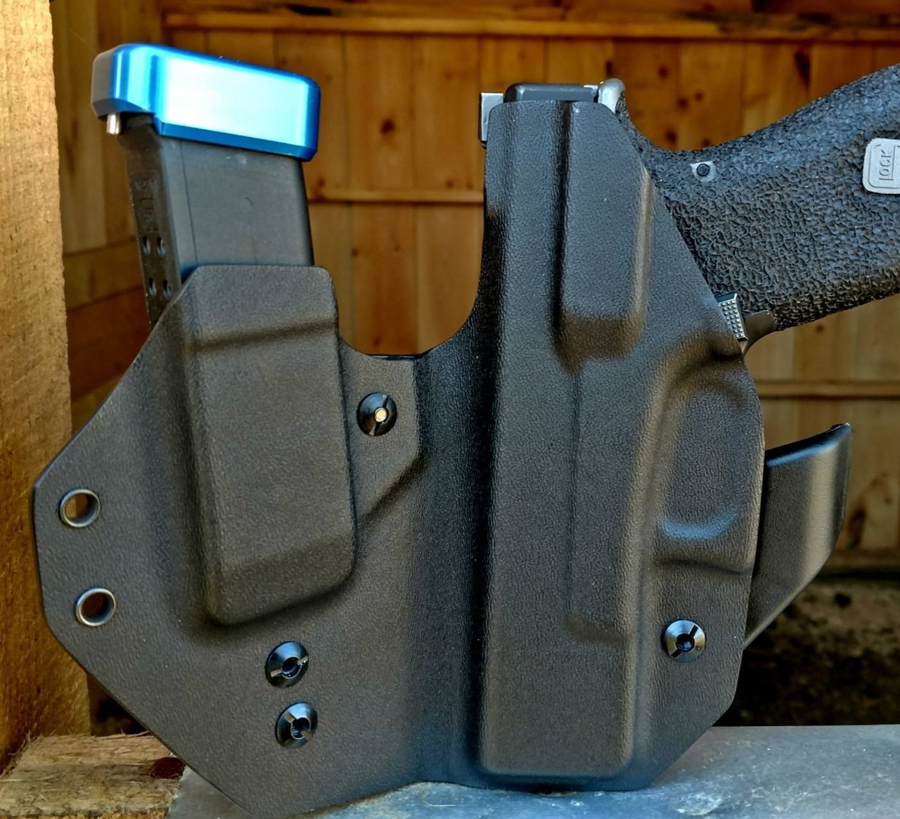 Glock 19 Sidecar Appendix Carry Rig Holster