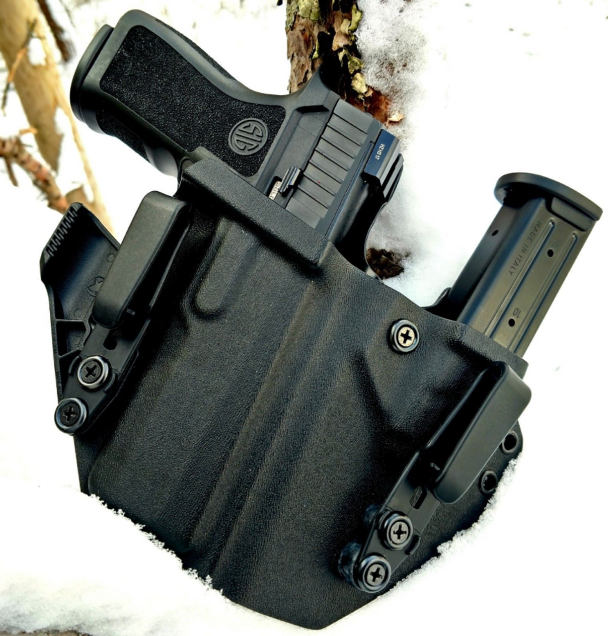 Sig Sauer P320 X Carry Sidecar Appendix Carry Rig Holster