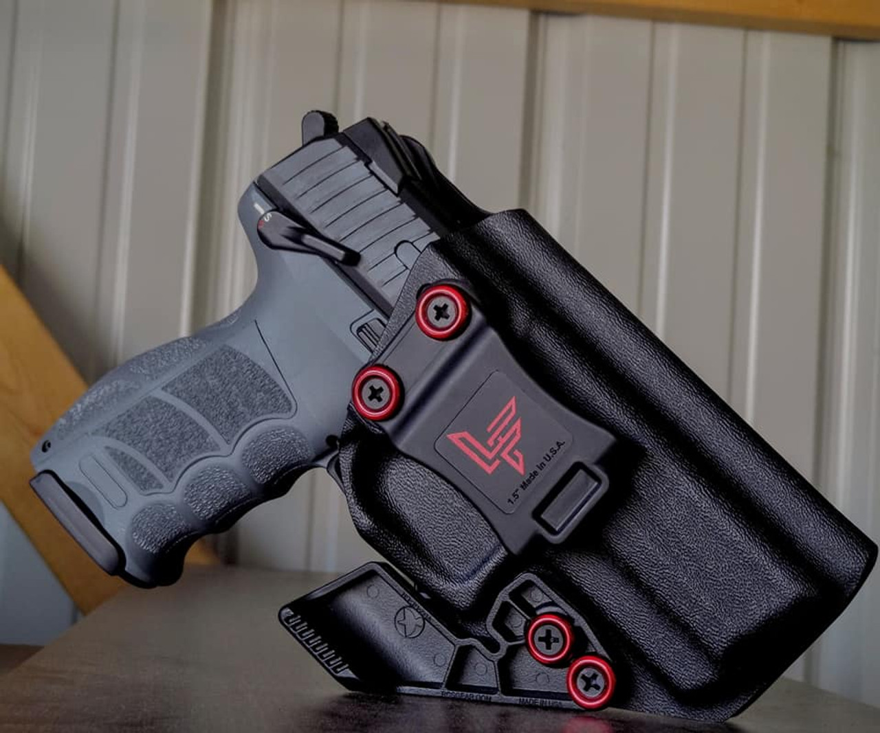 HK P30 P30s Appendix Carry Kydex Holster