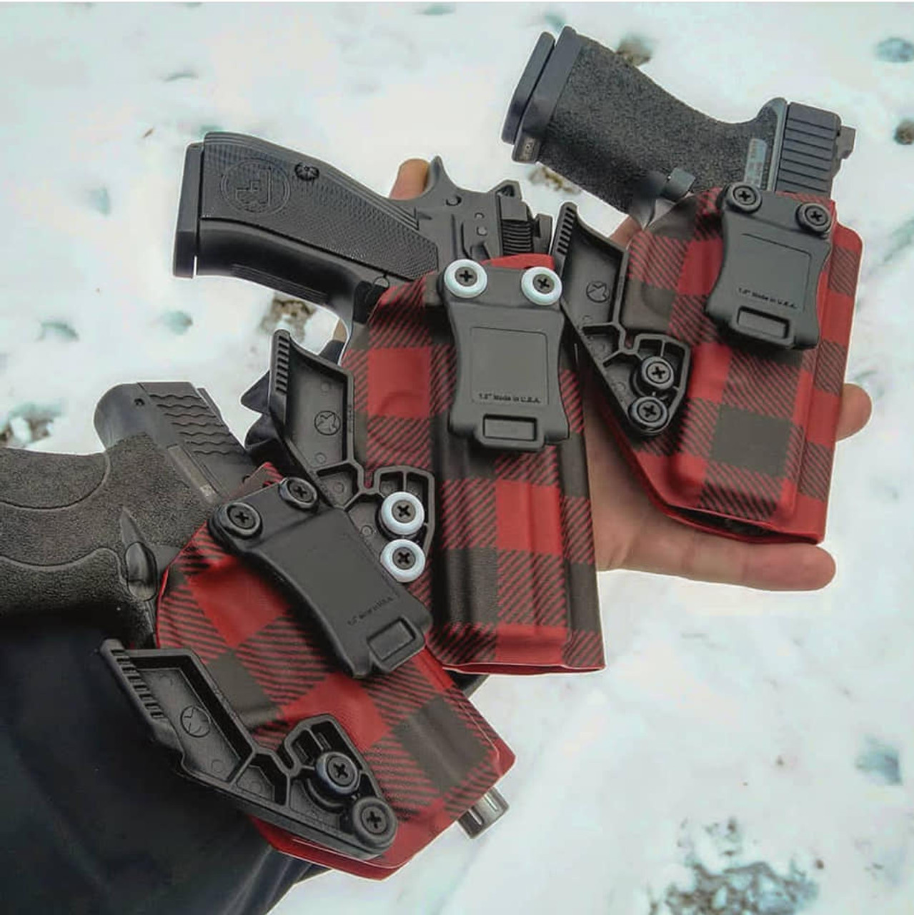 Red Flannel Kydex Holsters