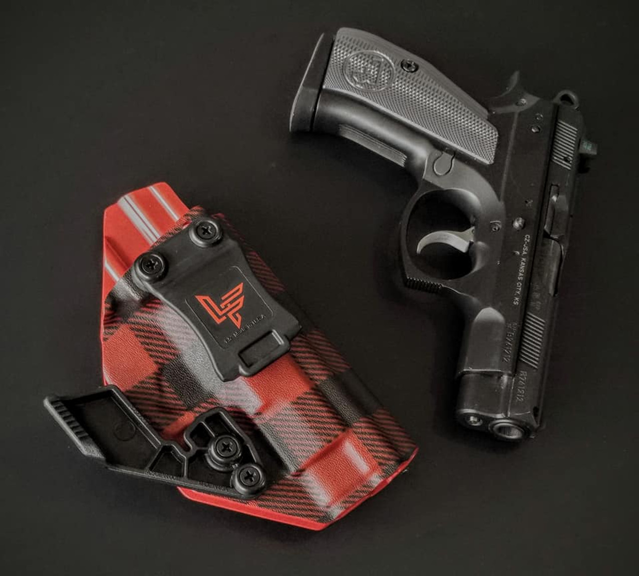 CZ PCR Appendix Carry Holster Red Flannel