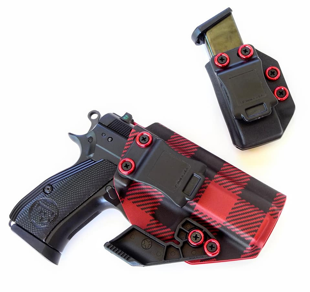 CZ P01 Red Flannel Holster