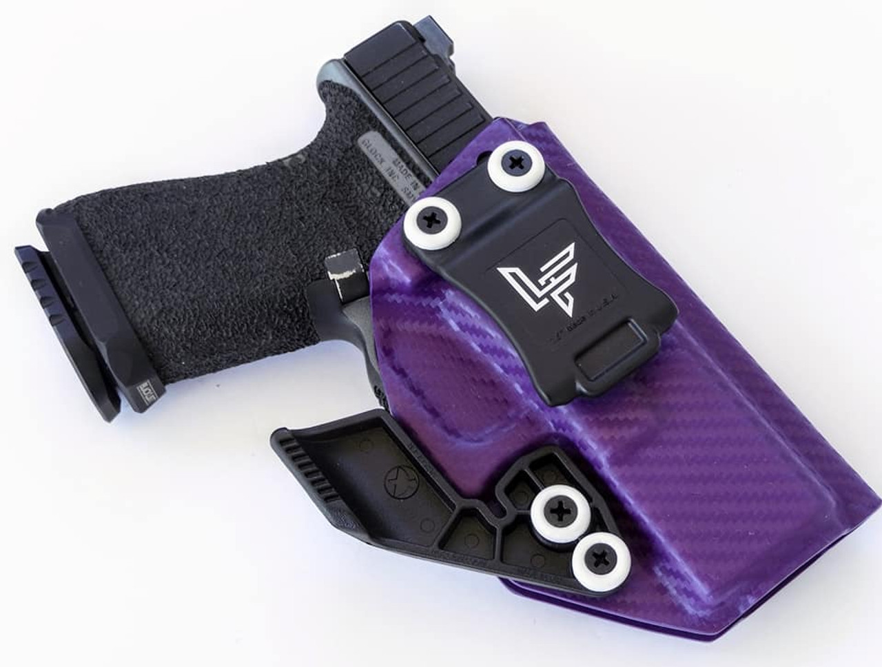 Glock 19 Purple Carbon Holster