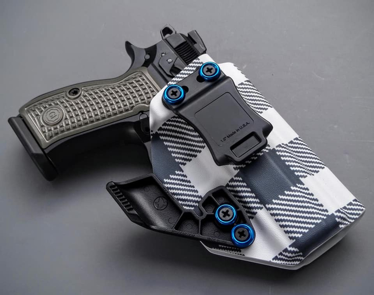 CZ P-01 Flannel Holster