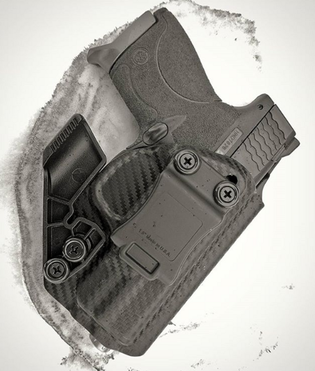 M&P Shield Appendix Carry Kydex Holster
