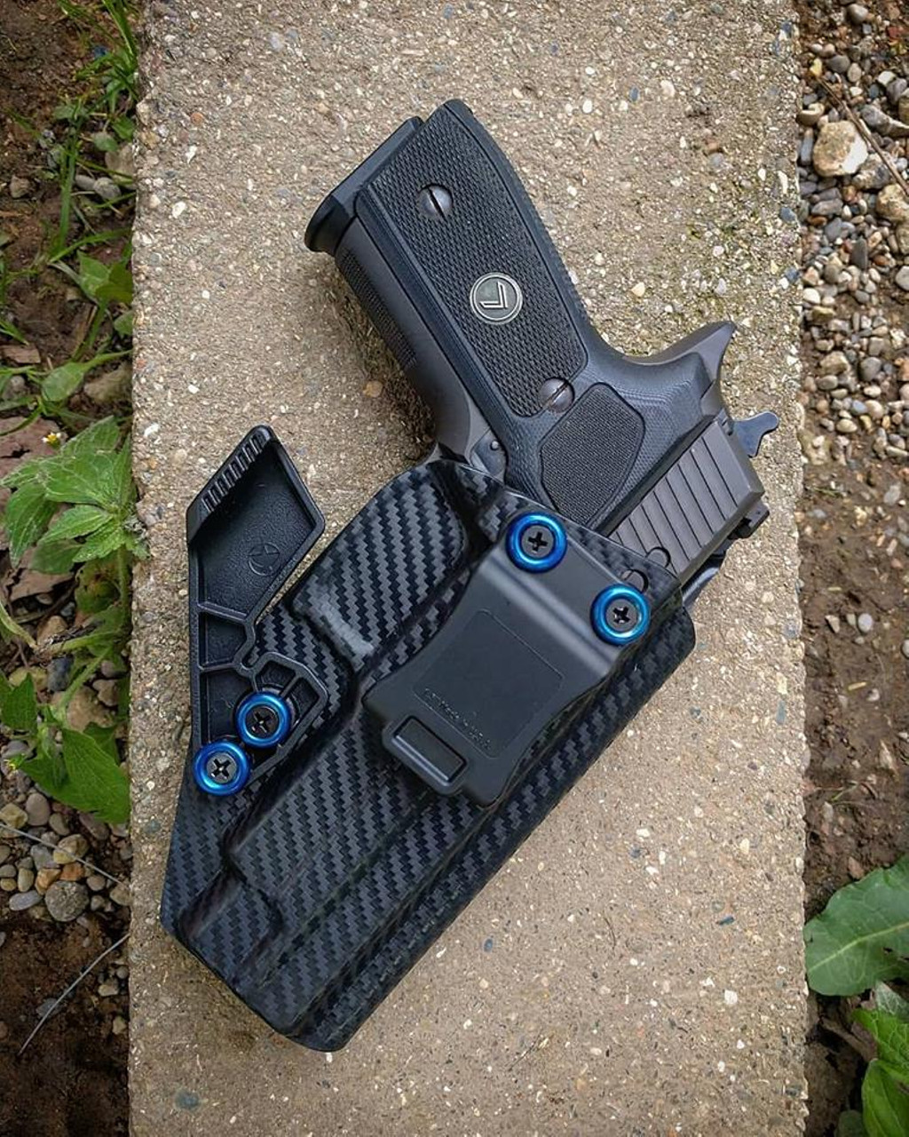 Sig P226 Legion Appendix Carry Kydex Holster