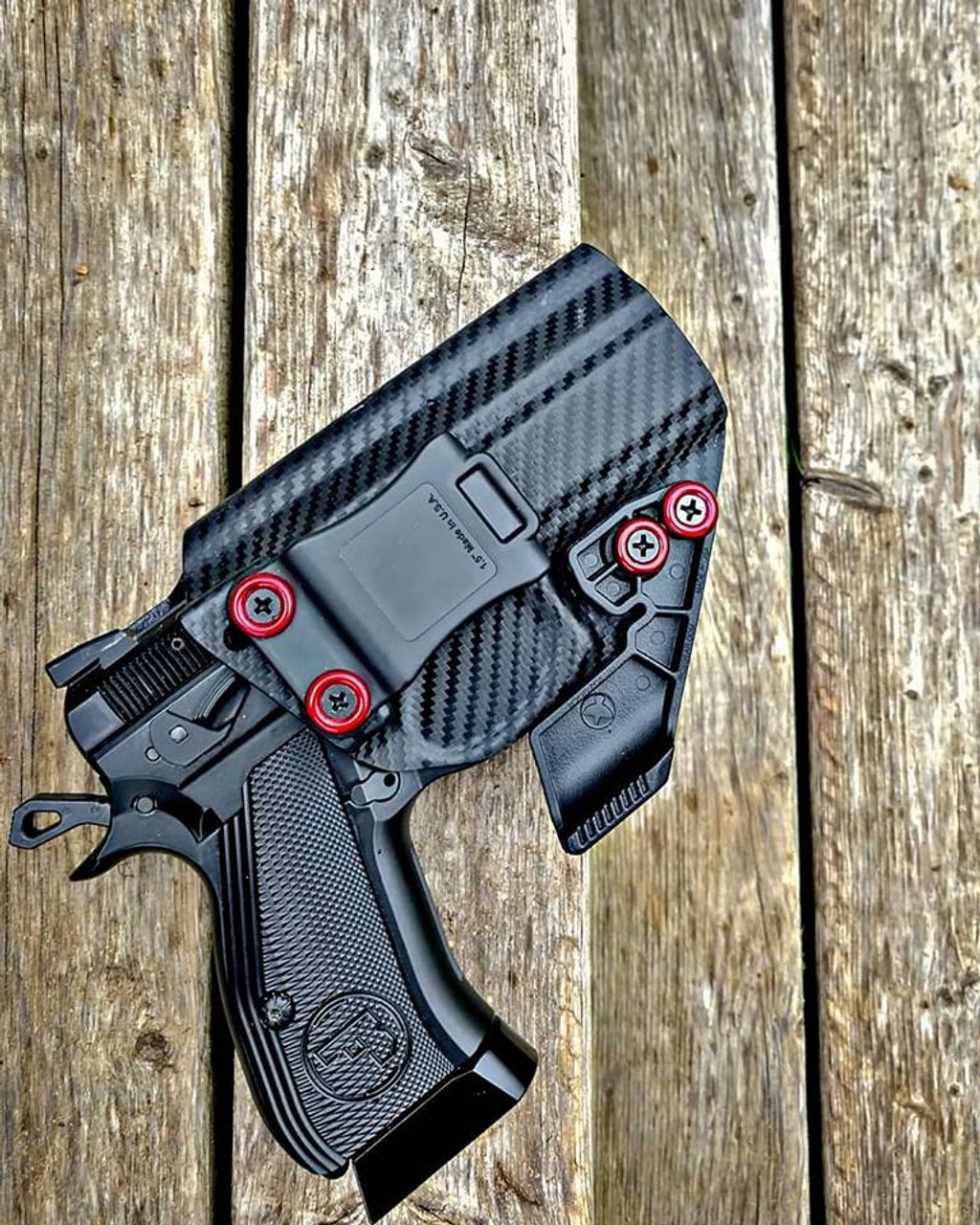 CZ P-01 Omega Appendix Carry Kydex Holster