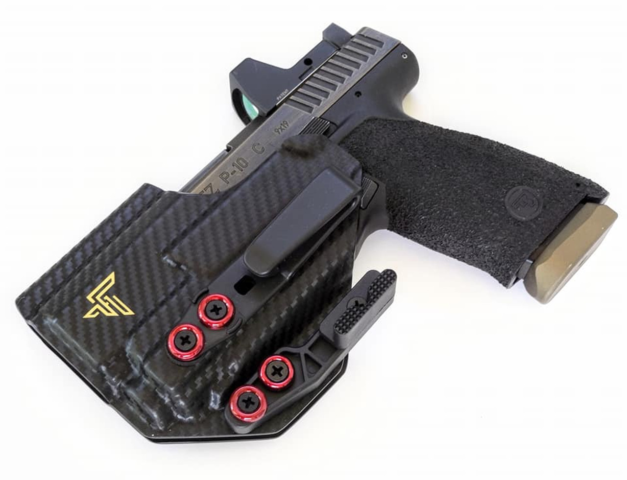 CZ P10c with Streamlight TLR8 Appendix Carry Holster