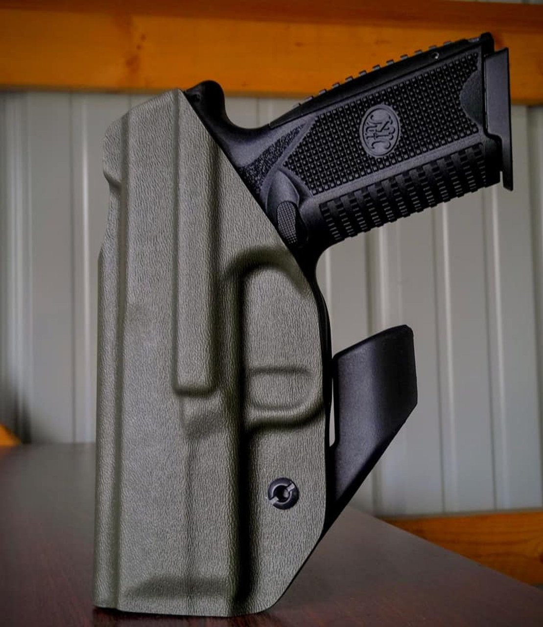 FN 509 Dual Hook Ares Holster Rear