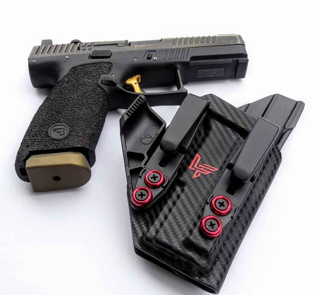 CZ P10c Carbon Fiber Appendix Carry Holster