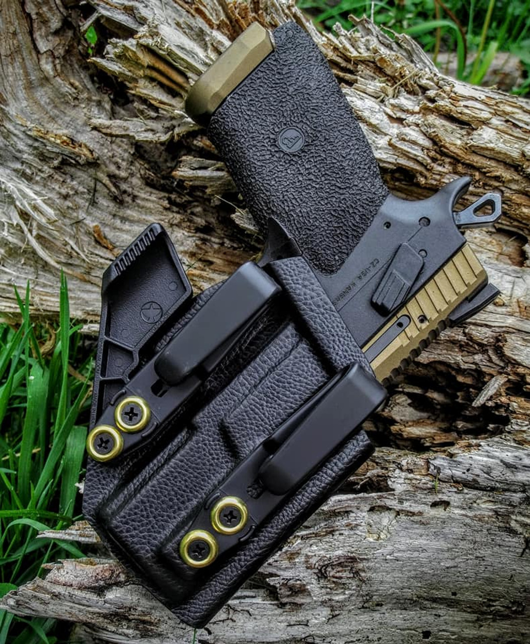 CZ P-07 Dual Hook Appendix Carry Holster