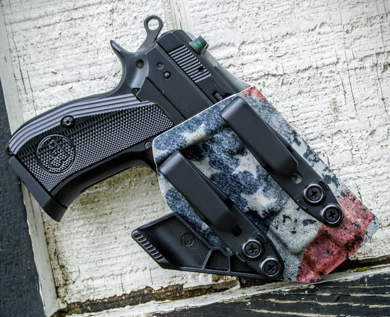CZ PCR Dual Hook Appendix Carry Holster