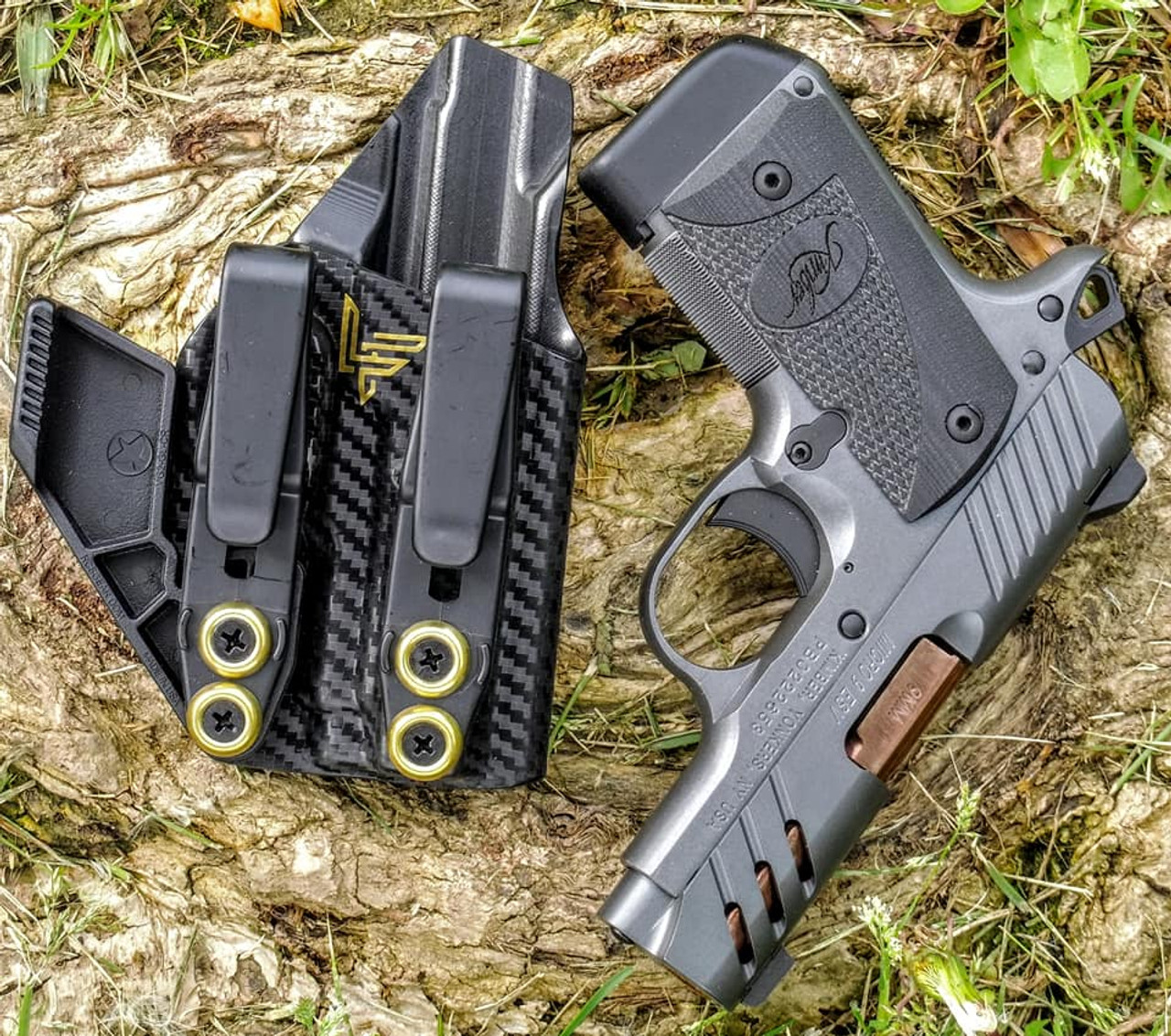 Kimber Micro 9 Dual Hook Appendix Carry Holster