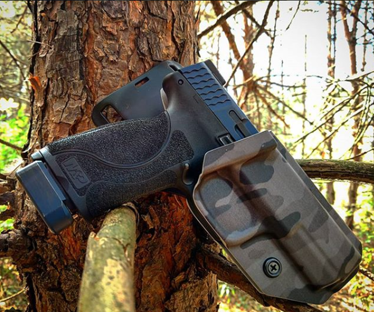 S&W M&P SAFARILAND UBL DROP HOLSTER