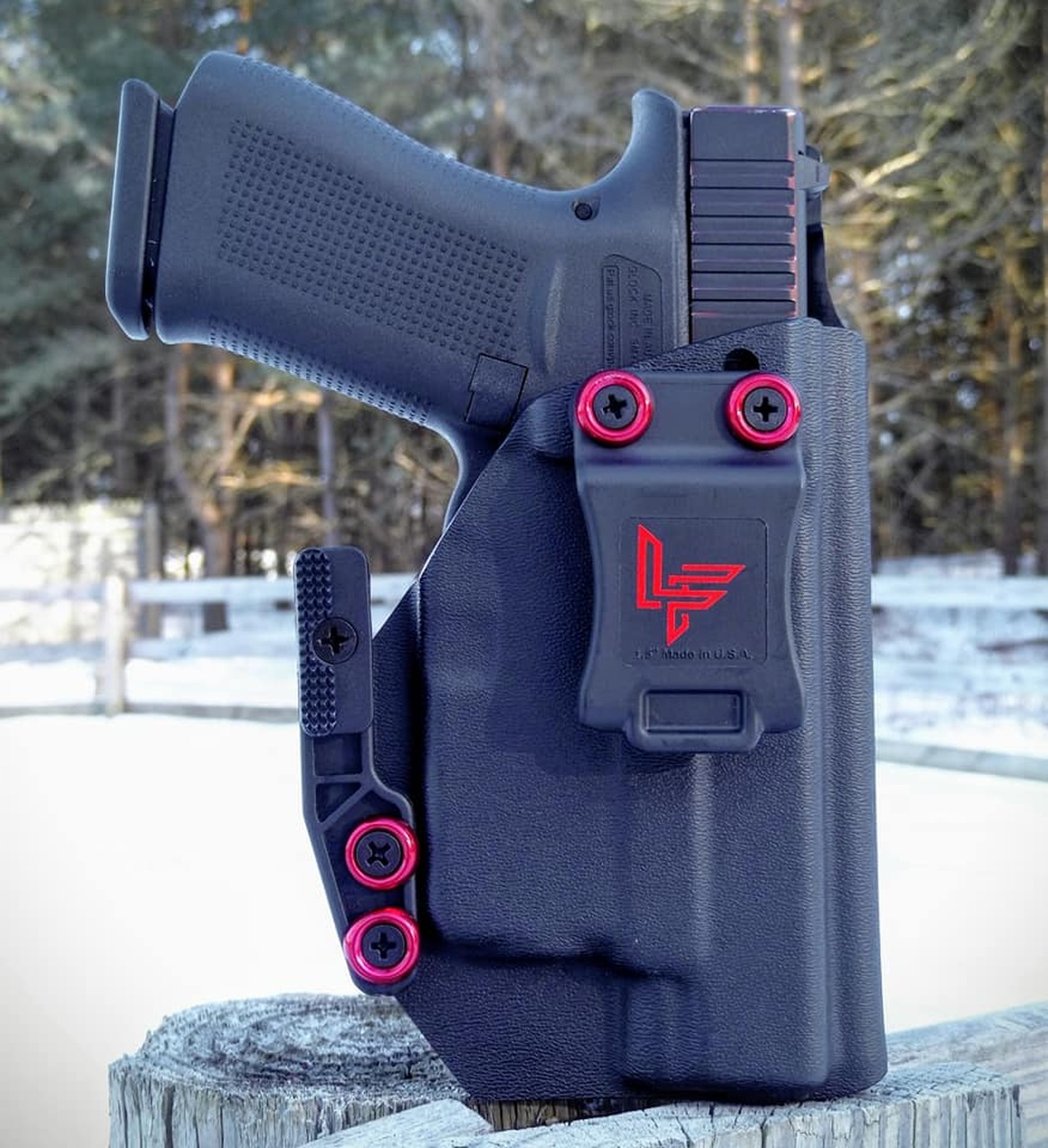 Glock 48 w/ Streamlight TLR6 Cronus Holster