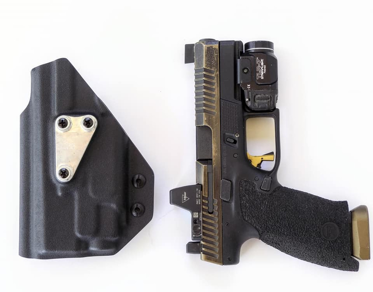 CZ P10c Light Bearing G-Code G-Code RTI Holster