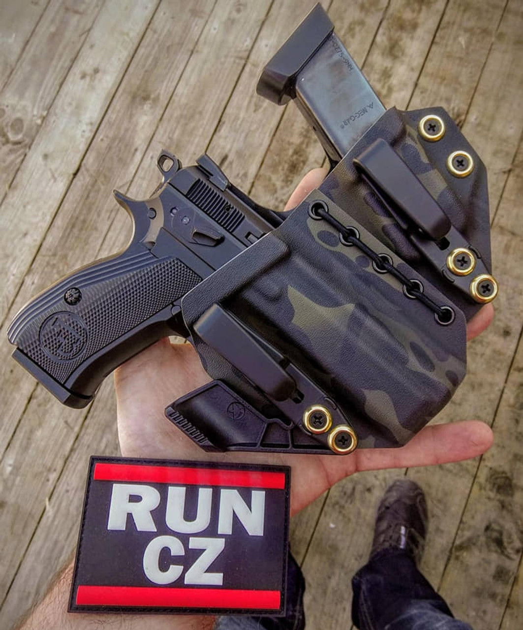 CZ P01 Appendix Carry Rig Holster with Shockcord