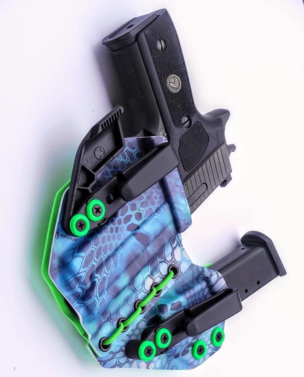 Sig P229 Legion Appendix Carry Rig Holster with Shockcord