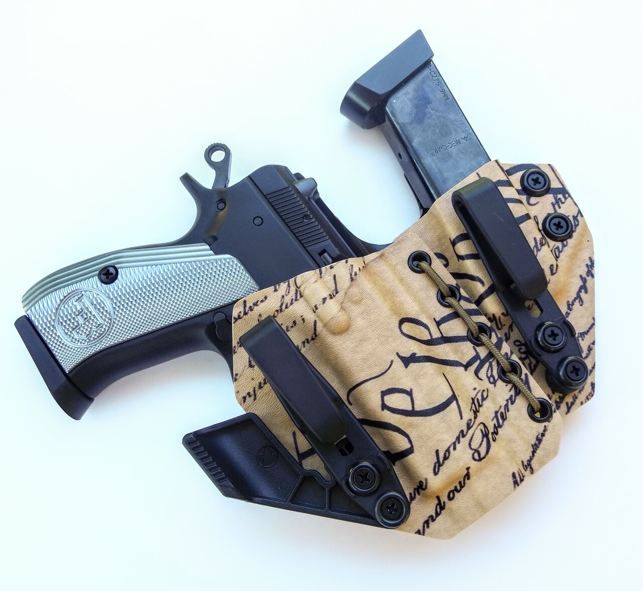 CZ 75 Compact Appendix Carry Rig Holster