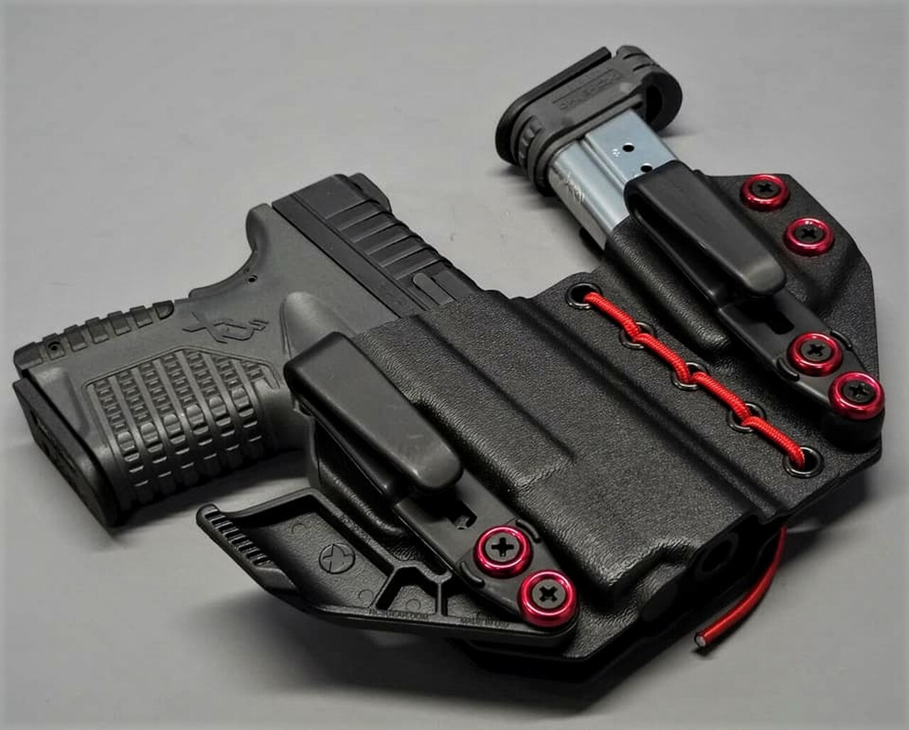 Springfield XDS Appendix Carry Rig