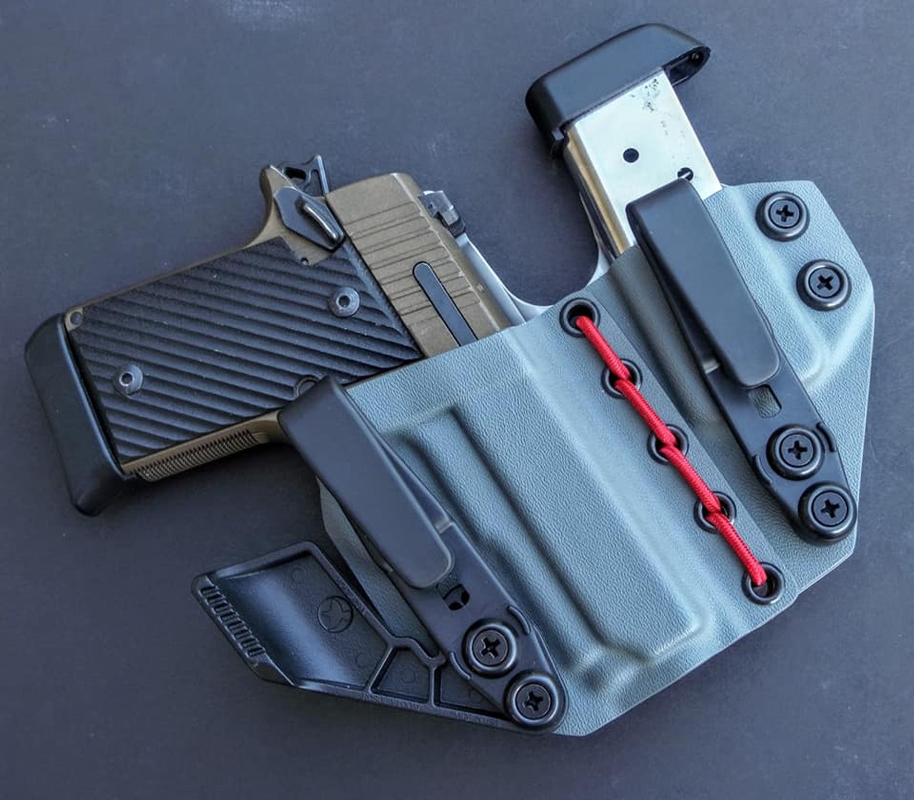 Sig P938 Flexible Appendix Carry Rig