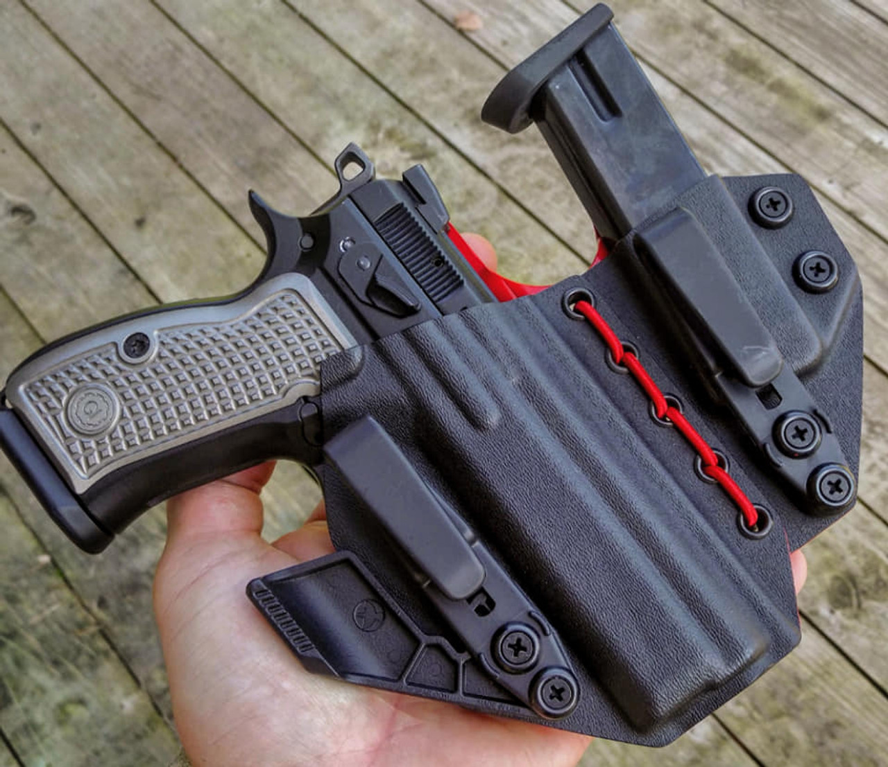 CZ P01 Flexible Appendix Carry Rig