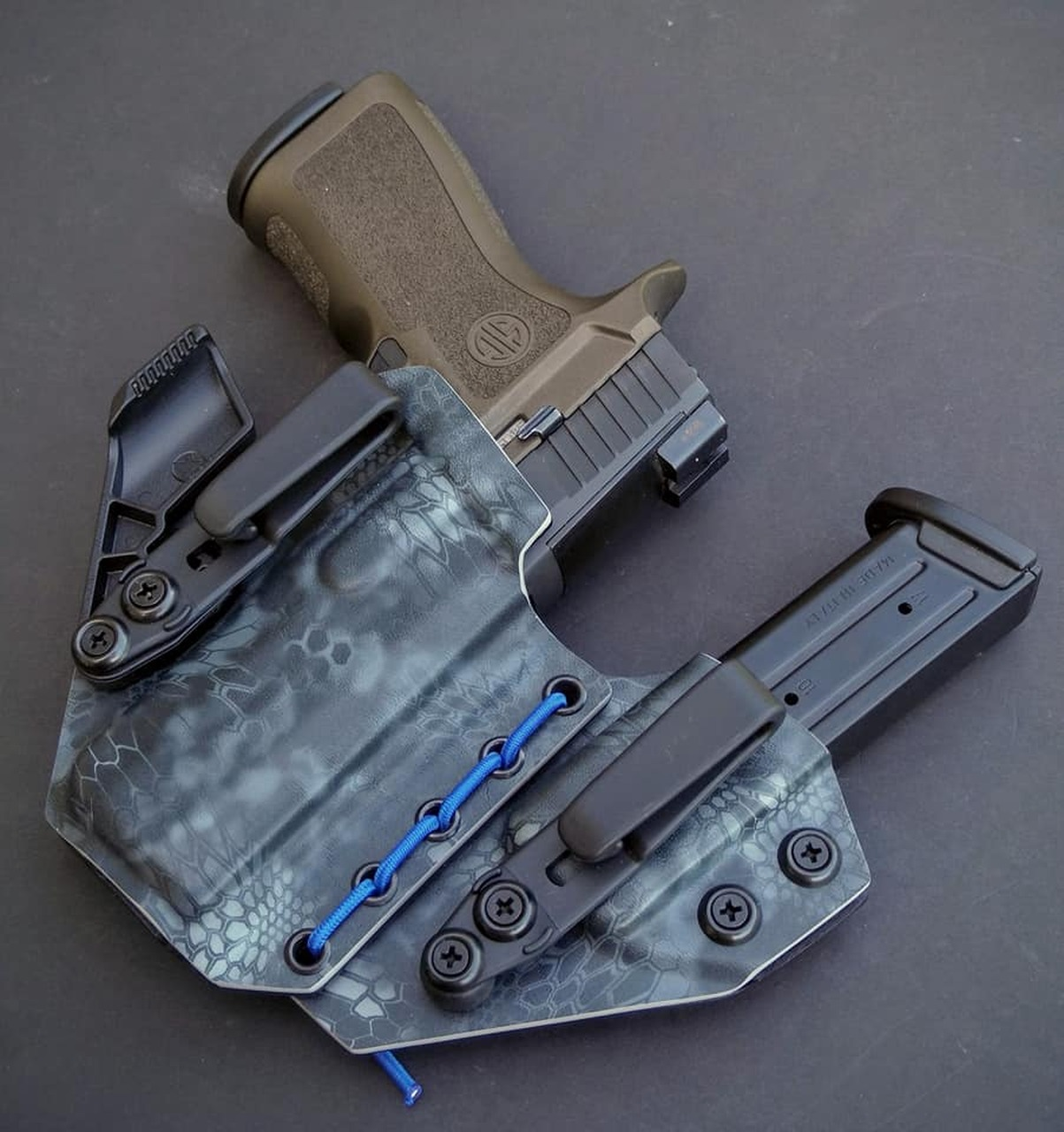 Sig P320 X Carry Flexible Appendix Carry Rig
