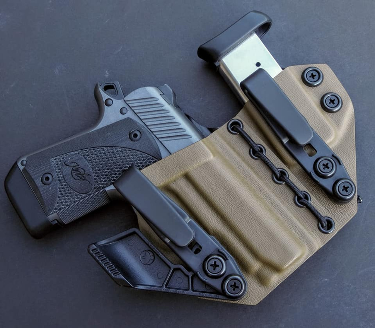 Kimber Micro 9 Flexible Appendix Carry Rig