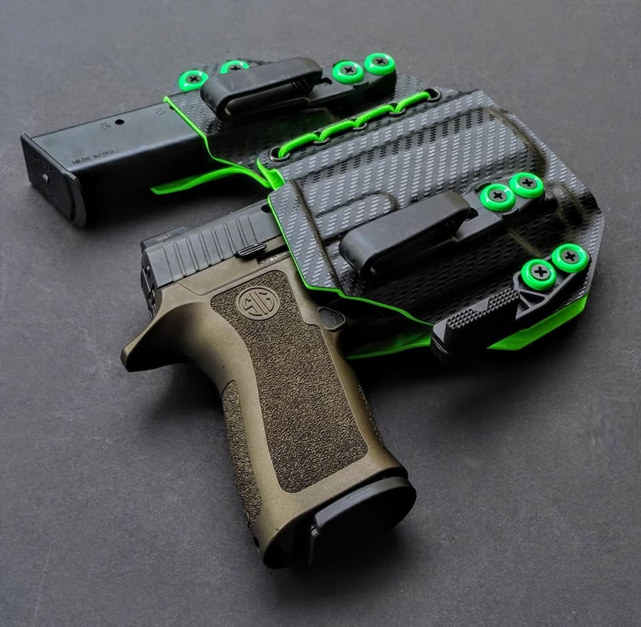 Sig P320 Inforce APLc Flexible Appendix Carry Rig