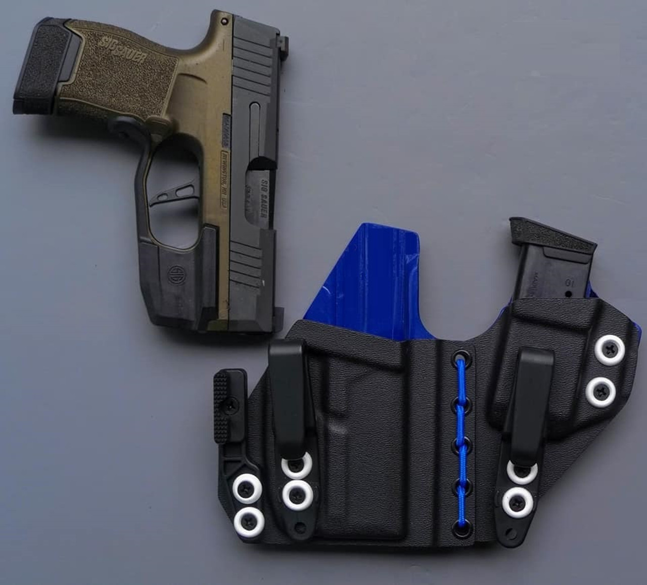 Sig P365 Foxtrot Light Flexible Appendix Carry Rig