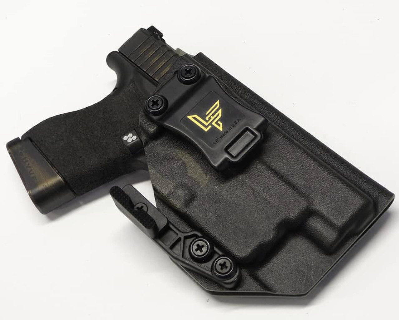 Glock 48 w/ Streamlight TLR6 Black Multicam Holster