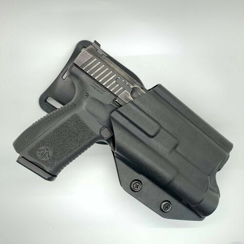Canik TP9 SF Elite w/ TLR 1 Light Bearing Outside Waistband UBL Drop Holster